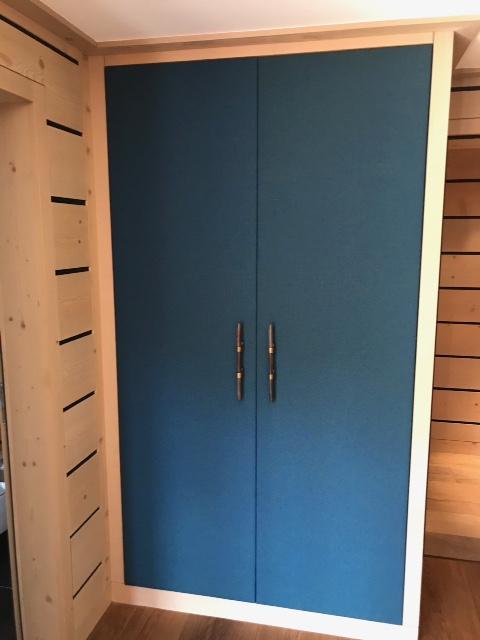 Gainage portes armoire